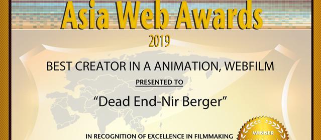 Best Creator in Animation & Webfilm @ Asia Web Awards