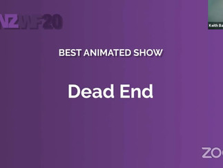 DEAD END Wins at NZ Web Fest