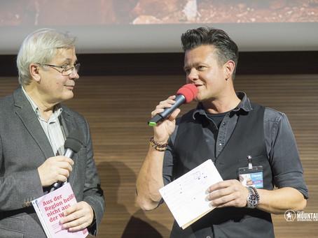 Moderation beim Bergfilmfestival 2021