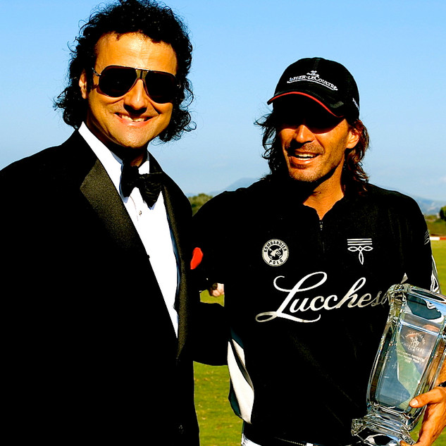"USPA LUCCHESE AMERICA'S CUP - SANTA BARBARA POLO CLUB - INGVAR AND ADOLFO CAMBIASO - INGVAR SINGS - ""SENSATIONAL"""