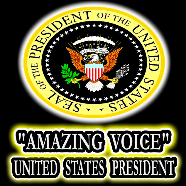 "FORMER UNITED STATES PRESIDENT - DONALD TRUMP - QUOTED INGVAR AS AN ""AMAZING VOICE!"""
