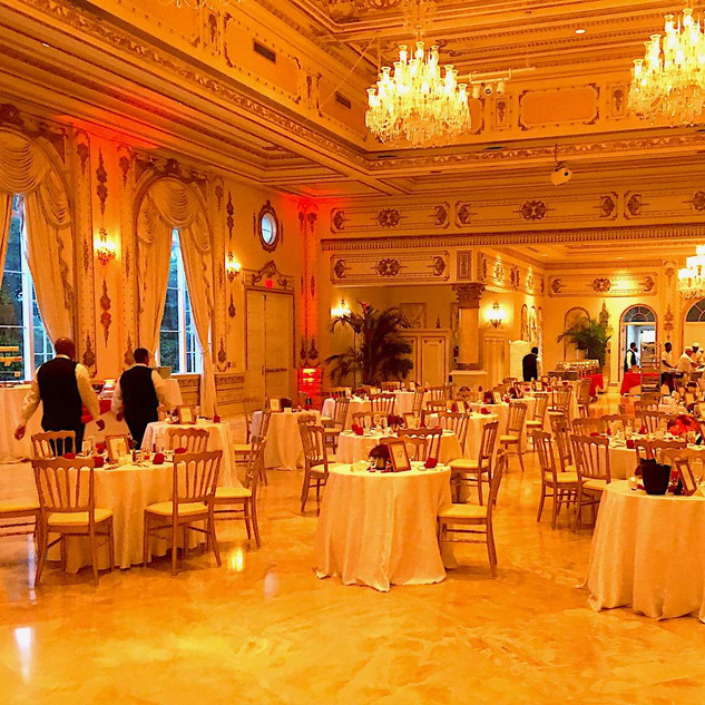 MAR-A-LAGO - VALENTINE'S EVENING - GRAND BALROOM PRIOR TO EVENT