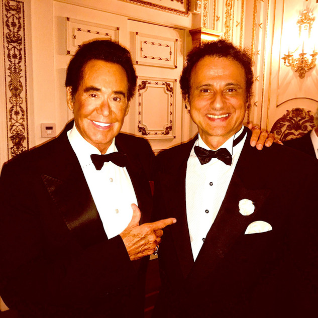 WAYNE NEWTON - INGVAR - MAR-A-LAGO - INGVAR PERFORMED - ORIGINAL BALROOM - SPECIAL EVENT