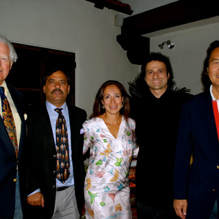 """INGVAR SINGS FOR THE ROYAL FAMILY OF JAIPUR - BEVERLY HILLS - """"AMORE UNDER THE STARS"""" DINNER CONCERT - BEVERLY HILLS - THE RAHANI - PADMINI DEVI QUOTED INGVAR AS HAVING A """"GORGEOUS VOICE!"""""""