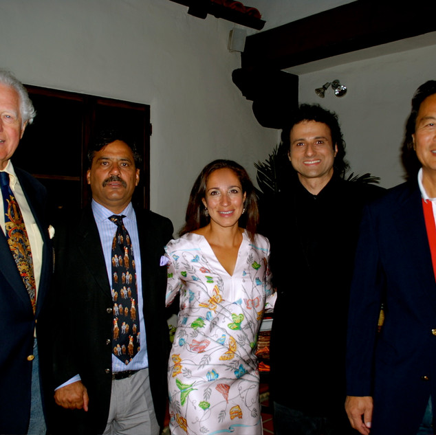 "INGVAR SINGS FOR THE ROYAL FAMILY OF JAIPUR - BEVERLY HILLS - ""AMORE UNDER THE STARS"" DINNER CONCERT - BEVERLY HILLS - THE RAHANI - PADMINI DEVI QUOTED INGVAR AS HAVING A ""GORGEOUS VOICE!"""
