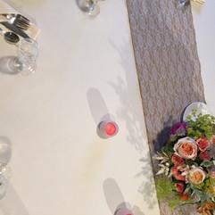 Jay Peak wedding table