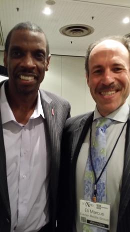 Eli with Doc Gooden