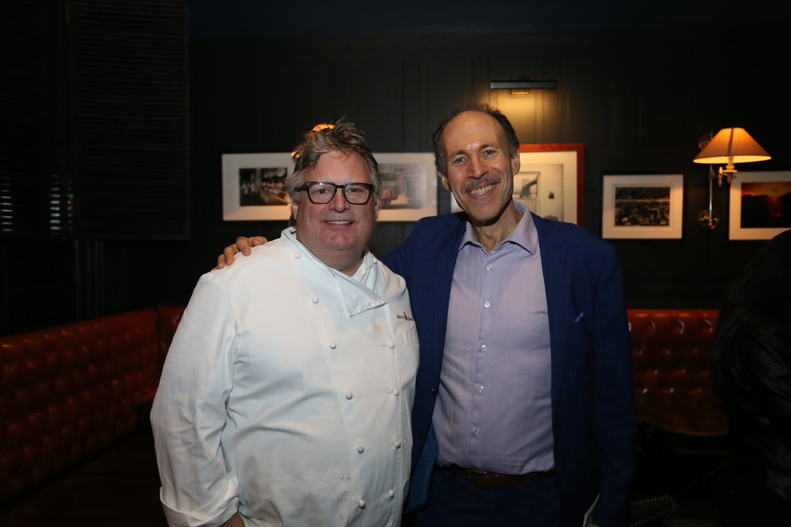 Eli with Iron Chef David Burke
