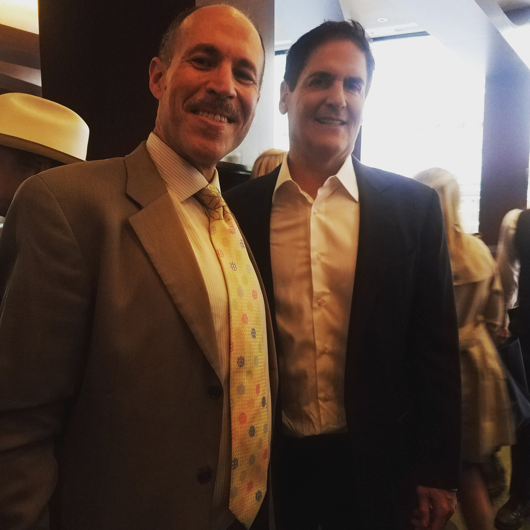 Eli with Marc Cuban