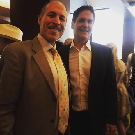 Eli with Marc Cuban