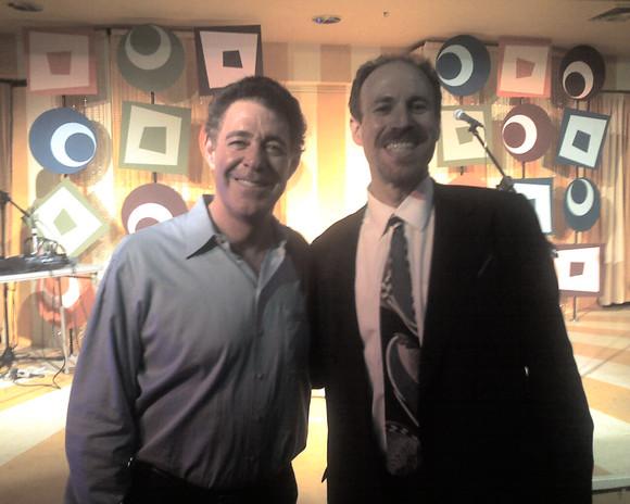 Eli with Barry Williams (The Brady Bunch)