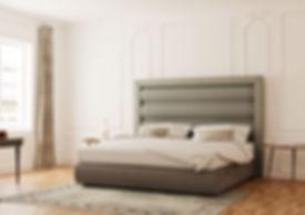 Ambiente 3D dormitorio moderno
