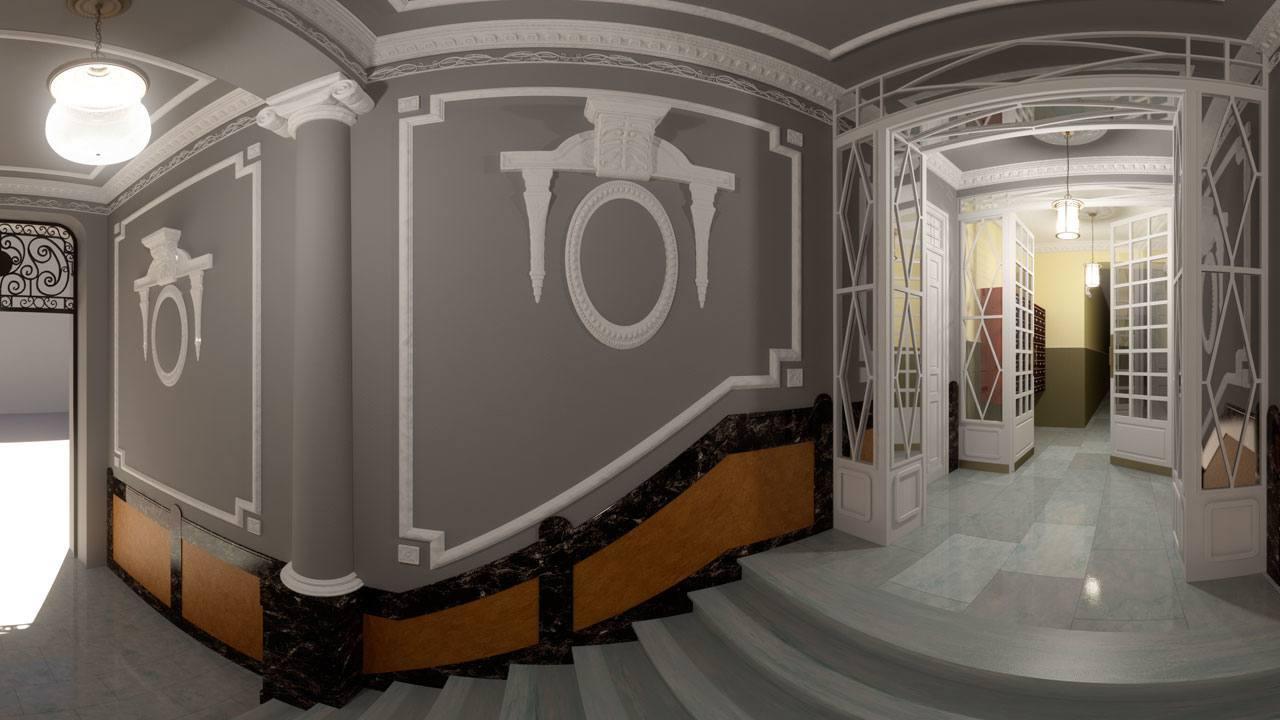 Infografía 3D portal viviendas