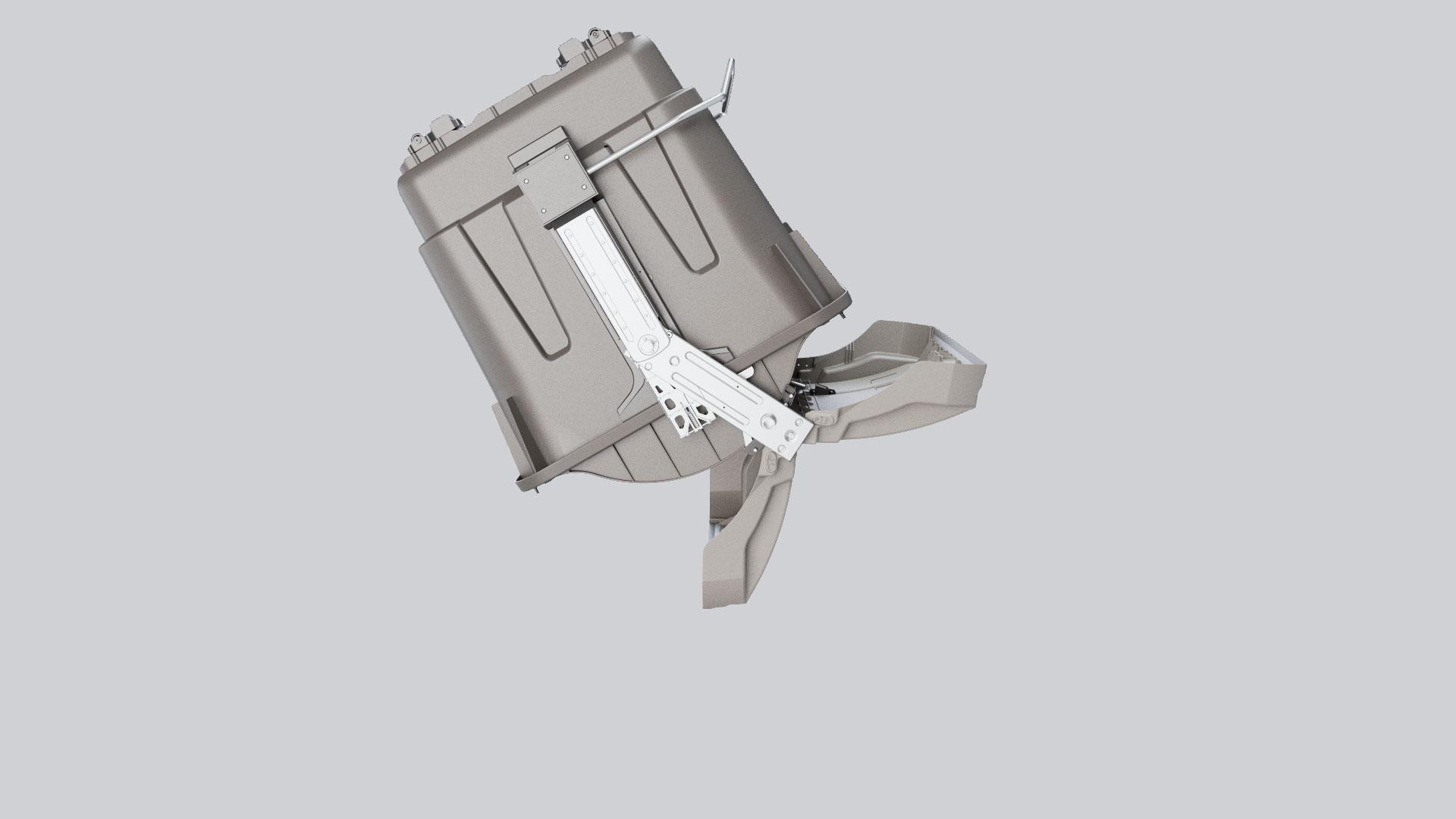 Infografías 3D contenedores