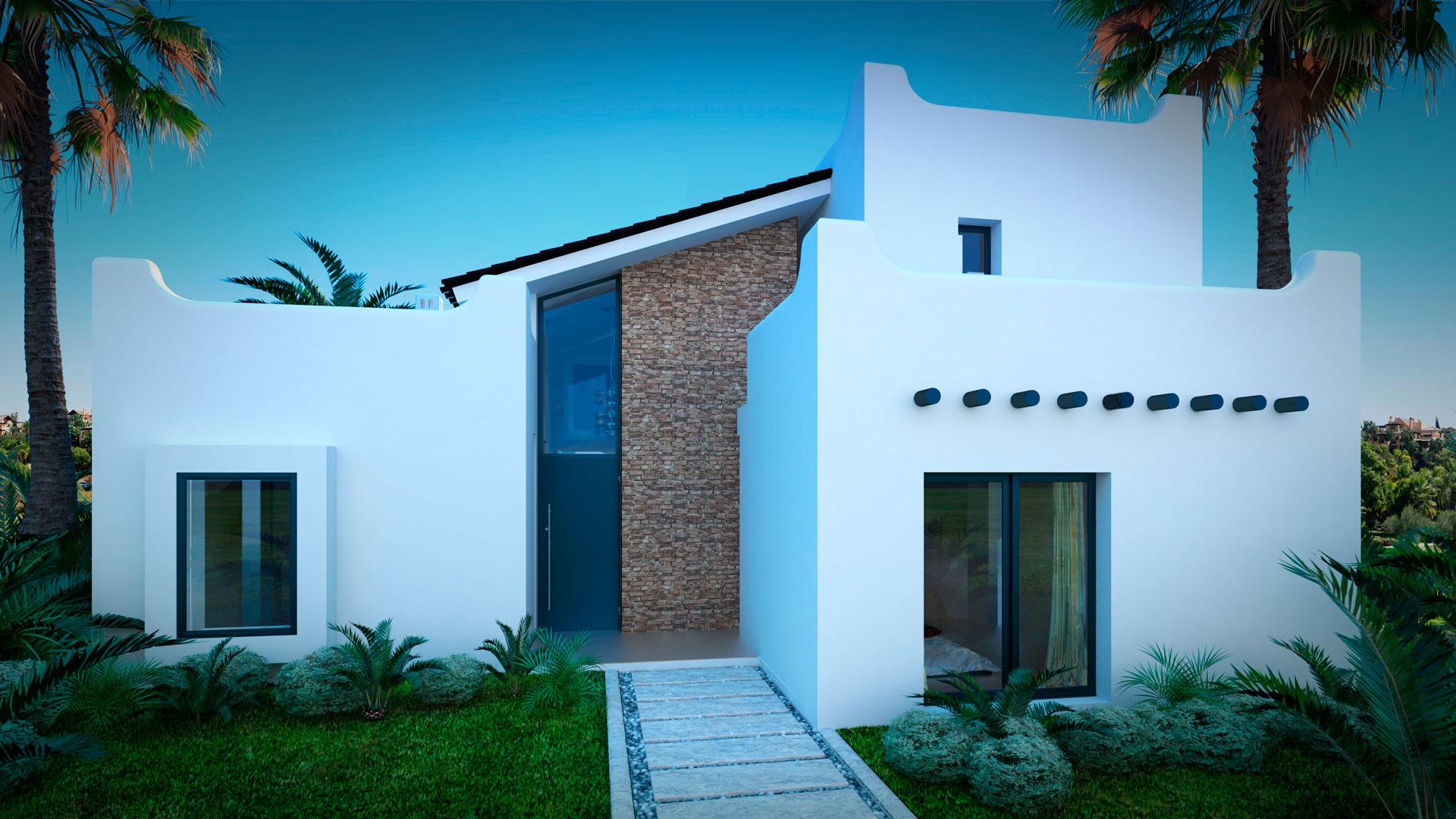 Infografias 3D Villa Marbella
