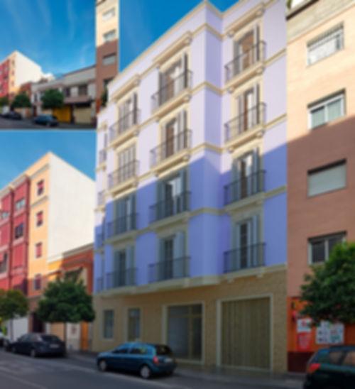 arquitectura 3d fachada