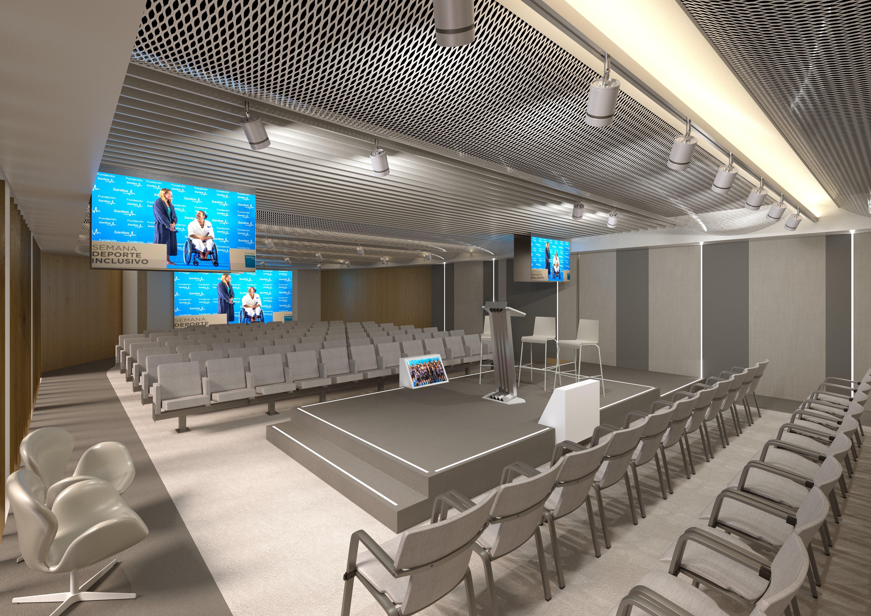 Infografías 3D auditorio
