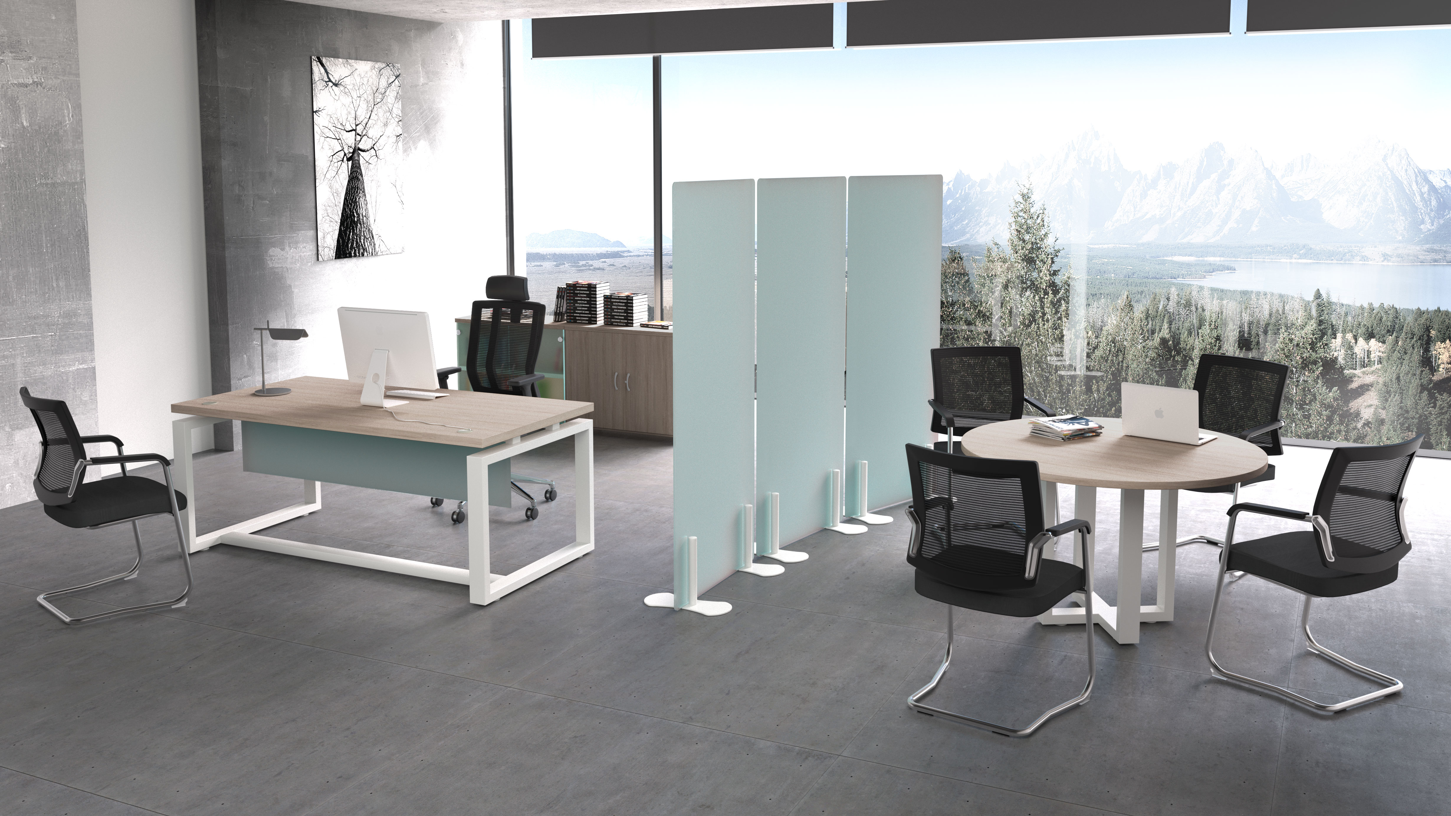 imágenes 3D oficina