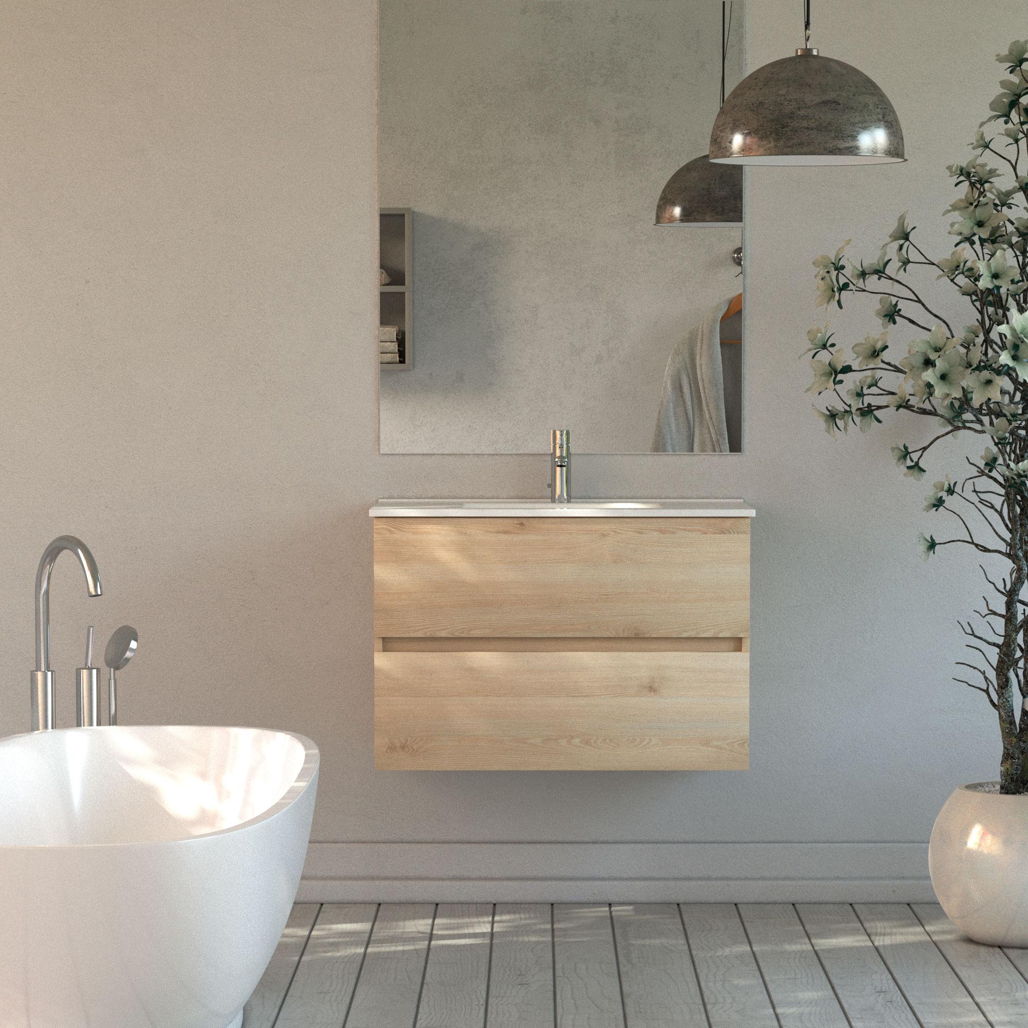 Infografías 3D baño mueble 3D