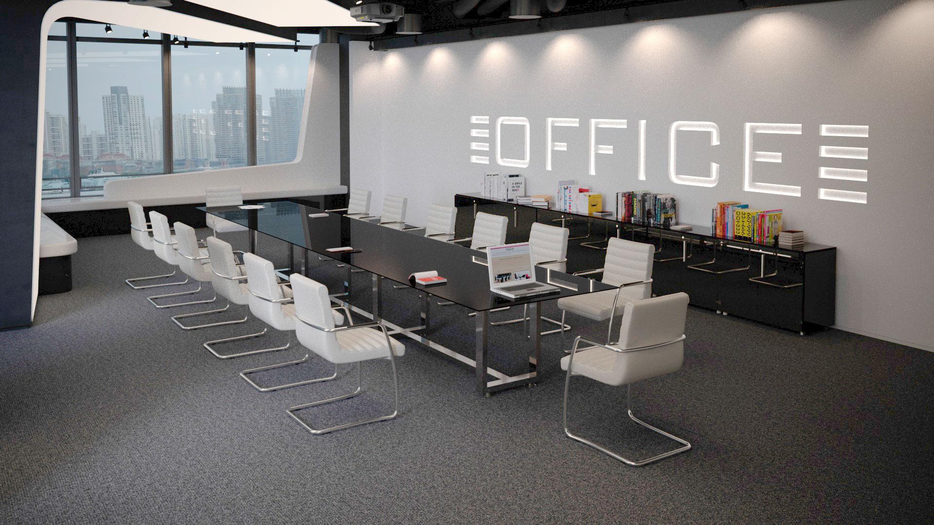 infografía 3d mueble
