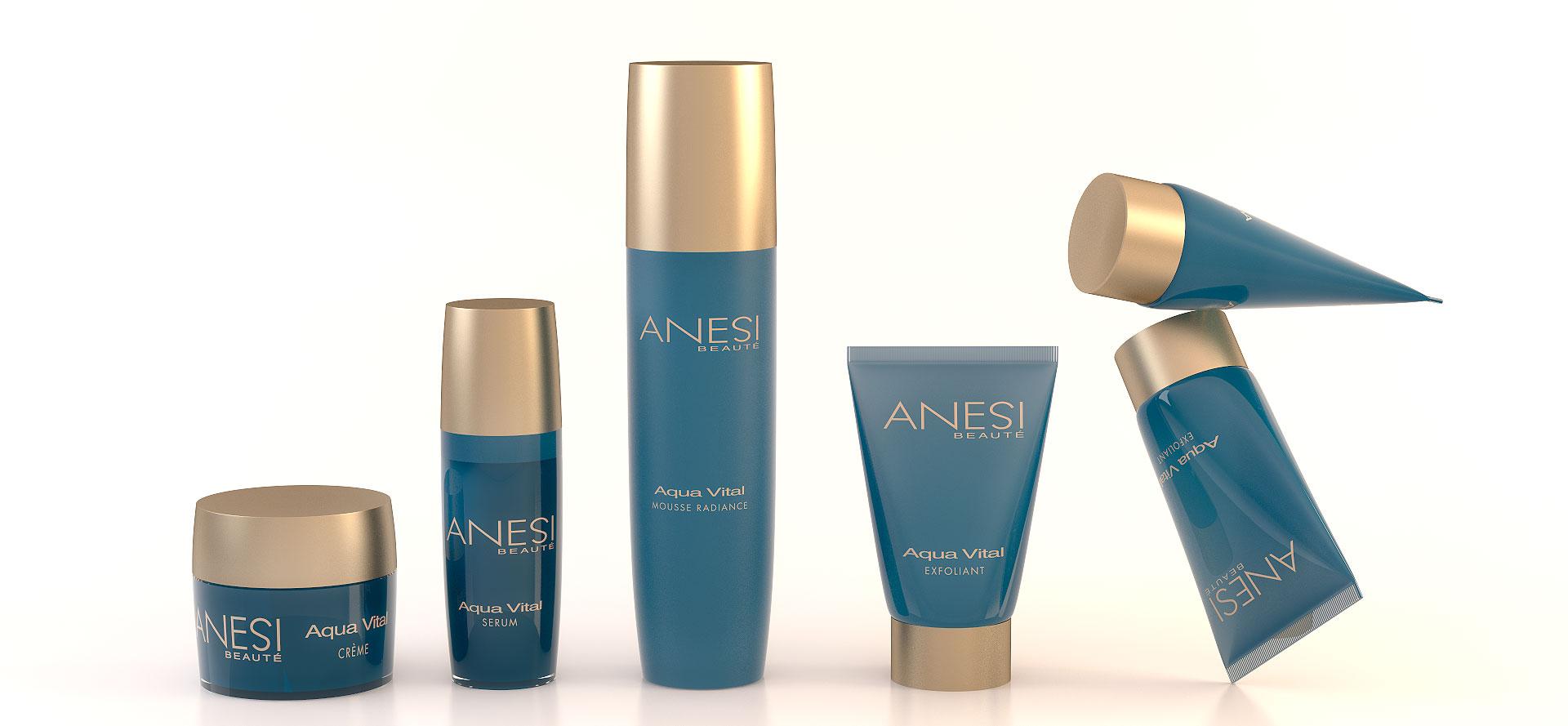 Infografías 3D producto cosmética