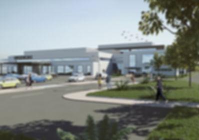 Arquitectura 3D Hospital Urgencias