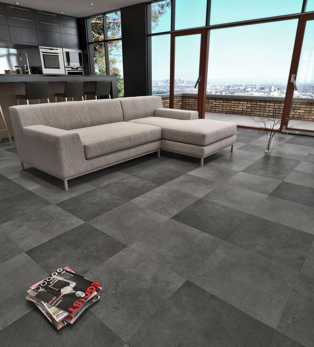 interiores 3D suelo cerámico