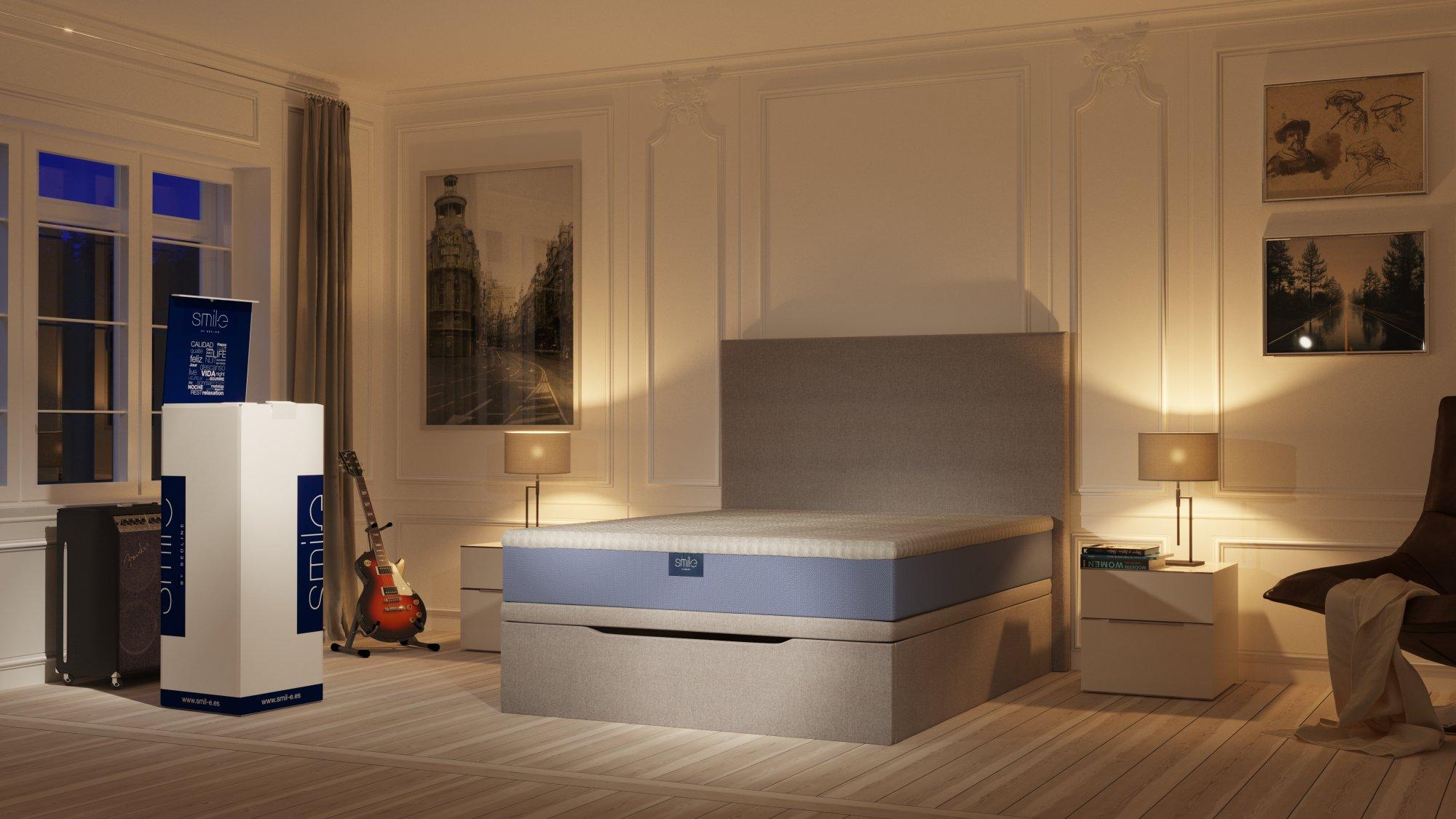 interiores 3D Ambiente dormitorio