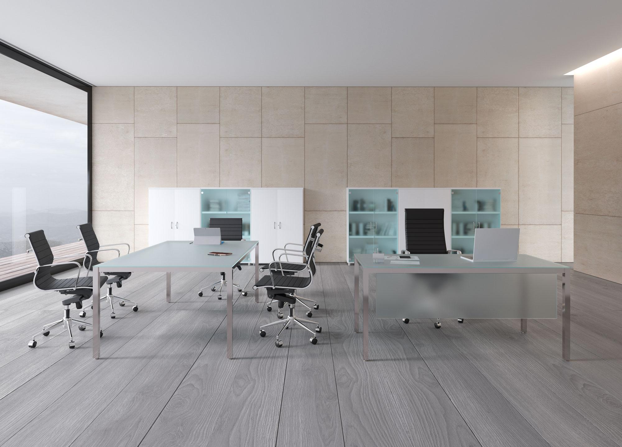 muebles 3D oficina