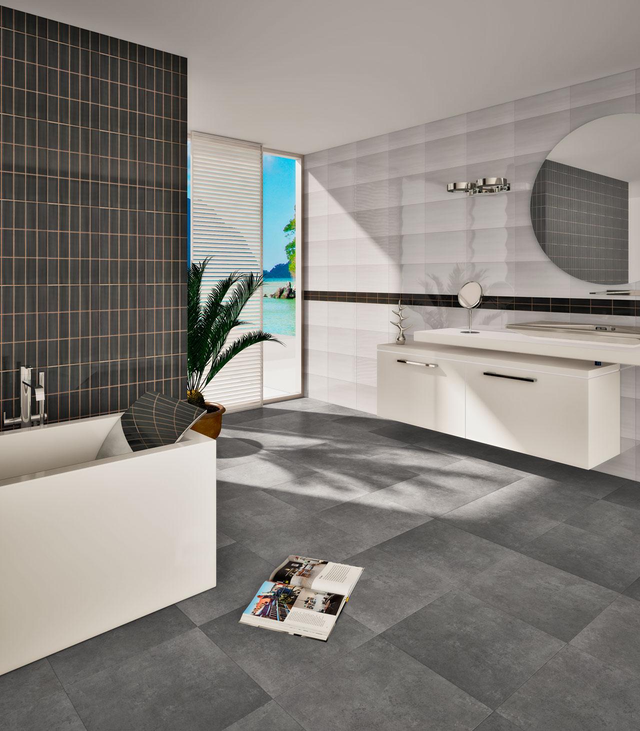Imagen 3D de baño