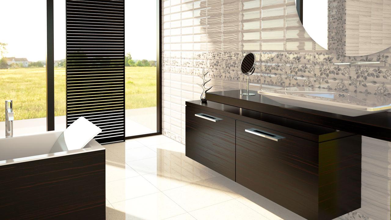 Infografías 3D de baños