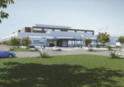 Arquitectura 3D Hospital Puertollano