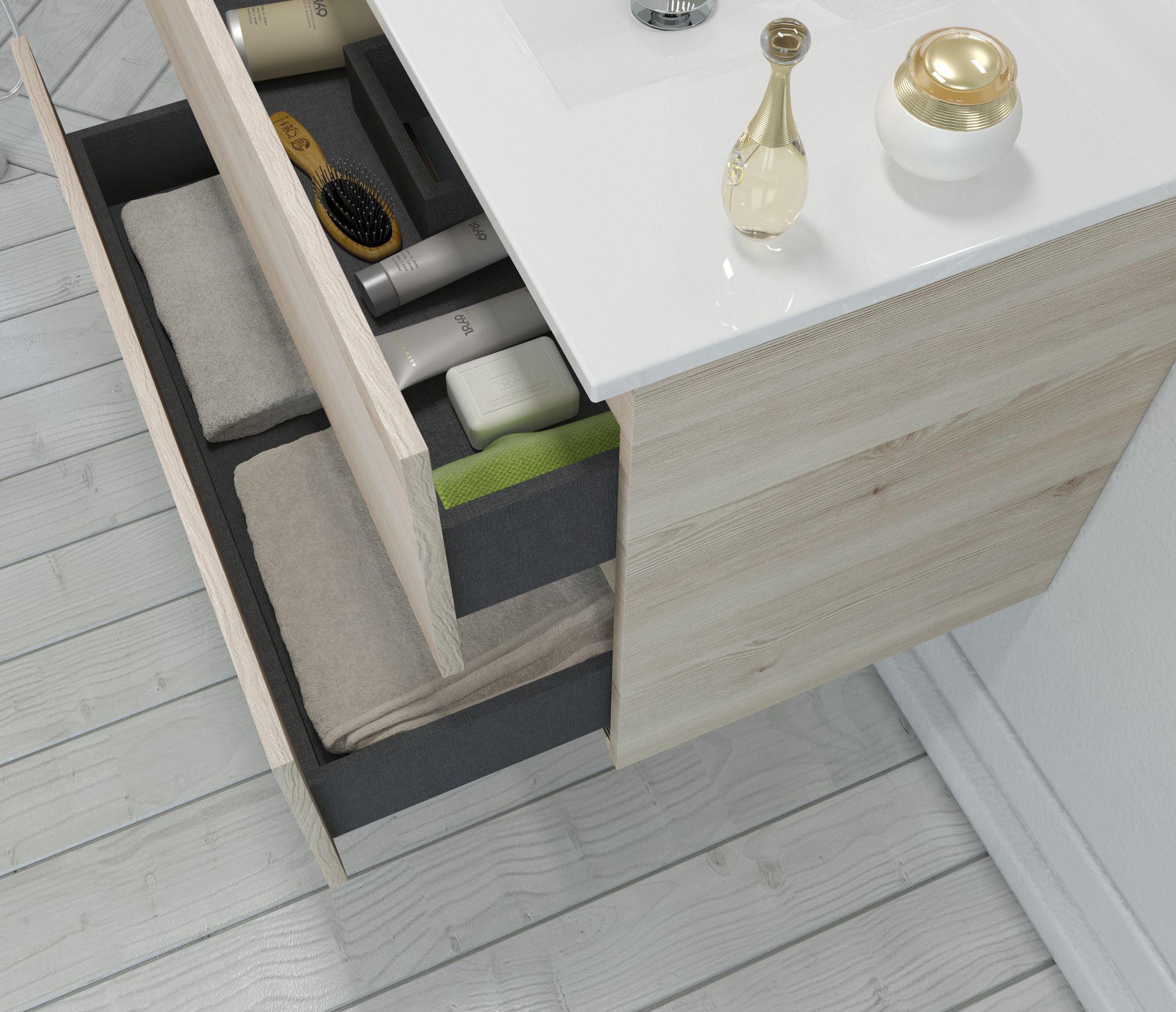 muebles 3D detalle cajón