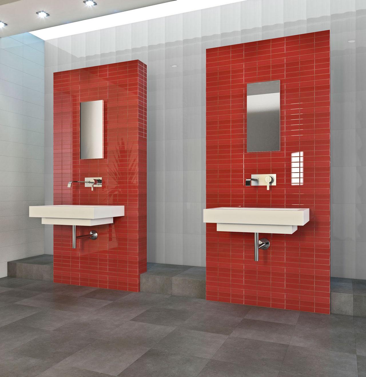 Render 3D de baño