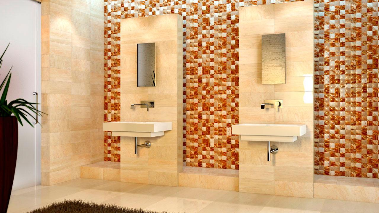 Infografía 3D de baño