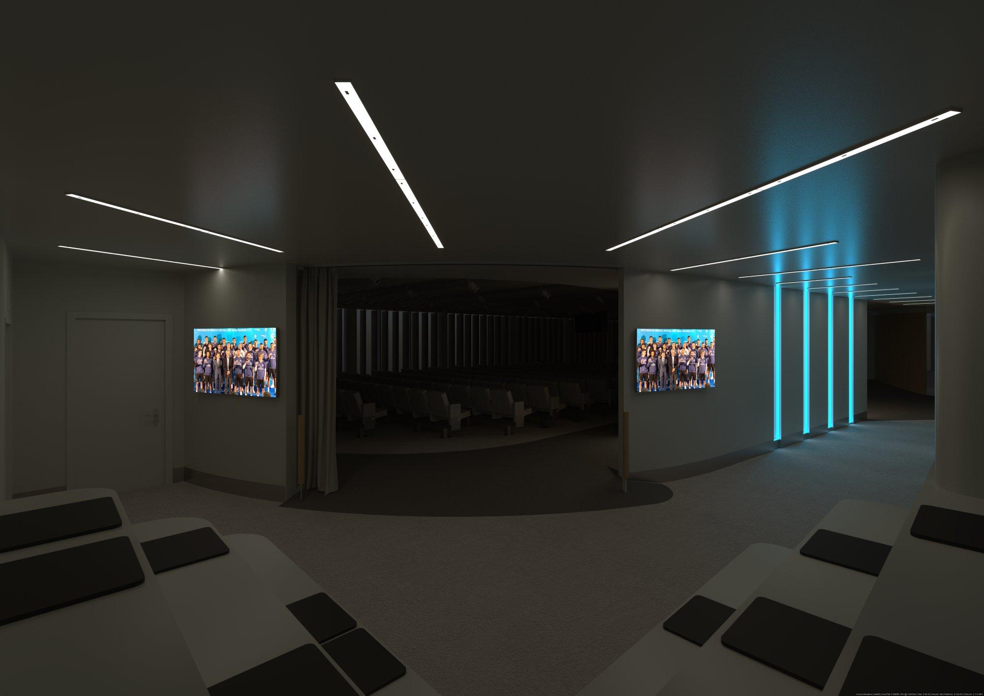 Infografía 3D Auditorio paso 4