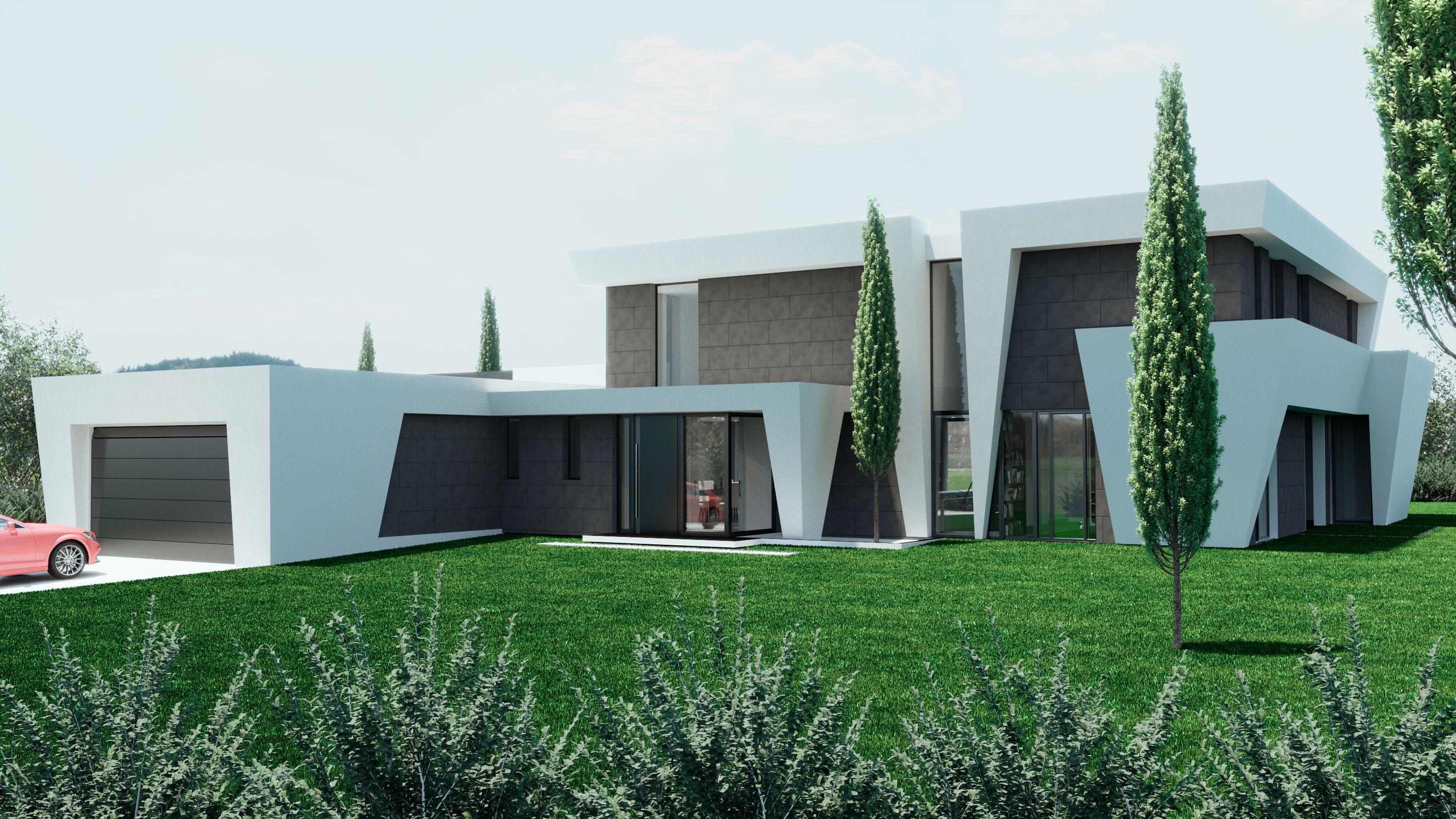 Infografía 3D Arquitectura Exterior