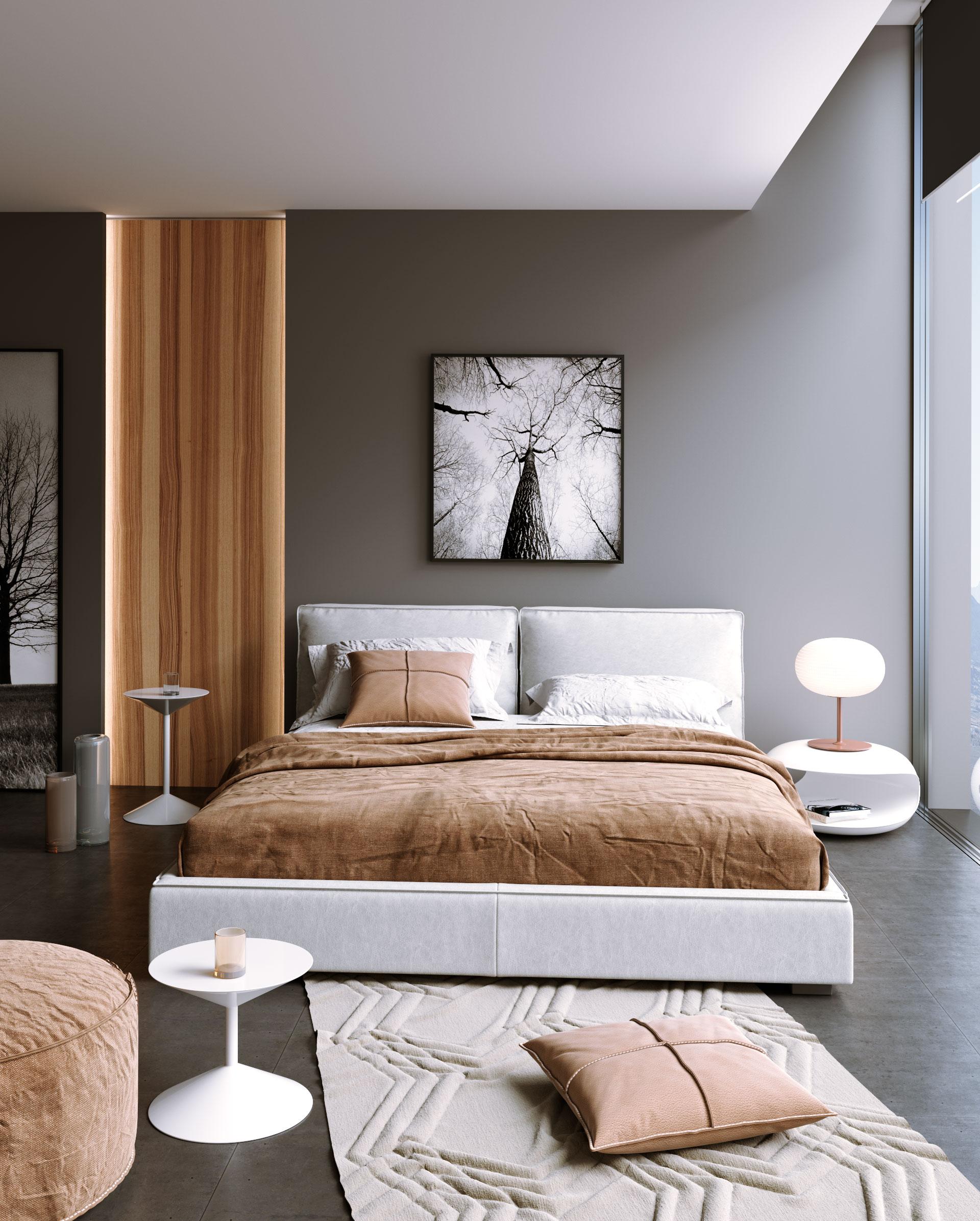 interiores 3D dormitorio