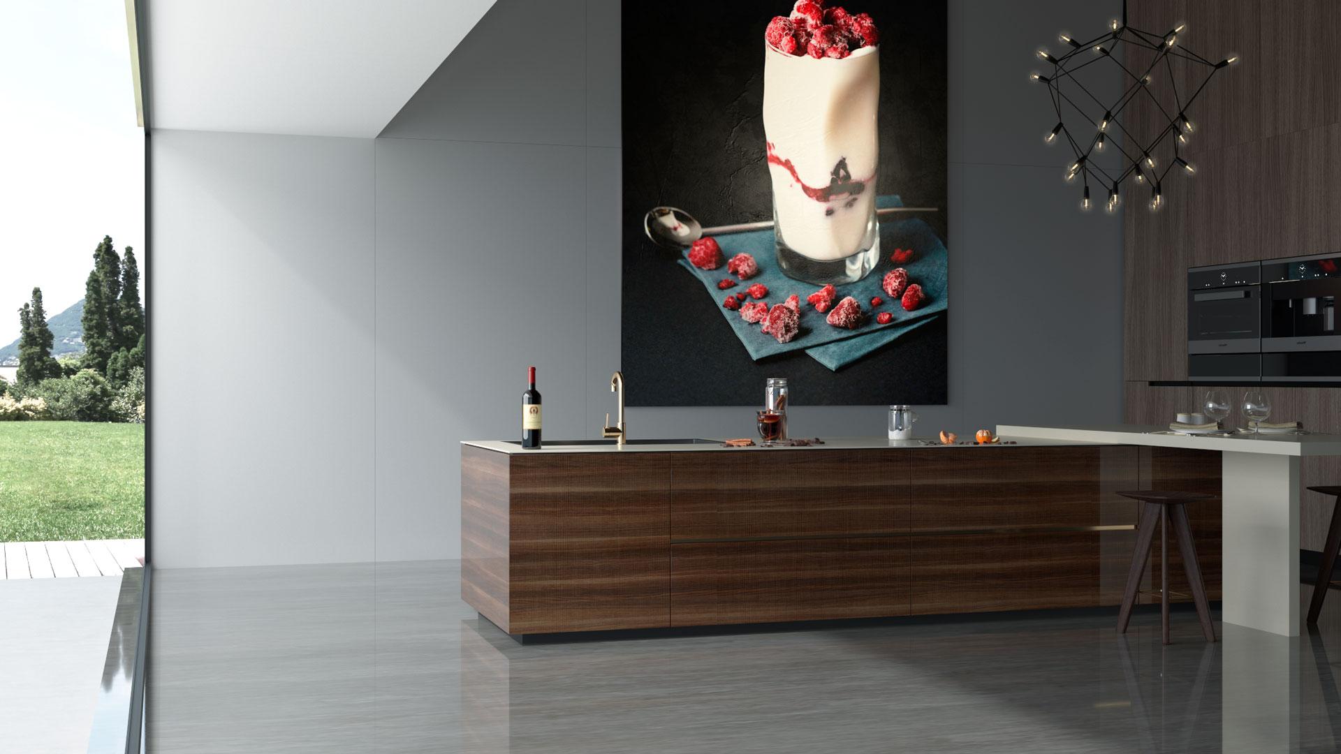 Infografías 3D Ambiente cocina