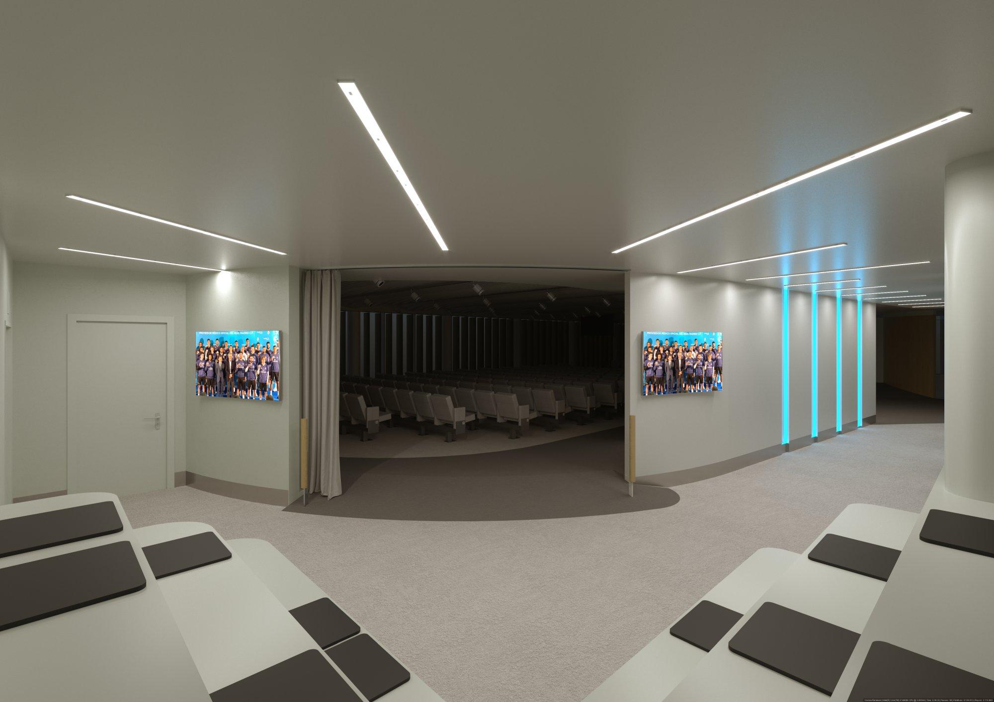 Infografía 3D Auditorio paso 2