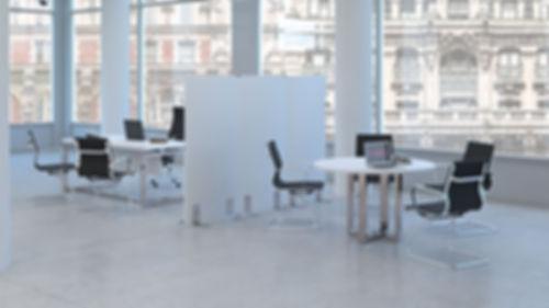 infografía 3d mueble oficina