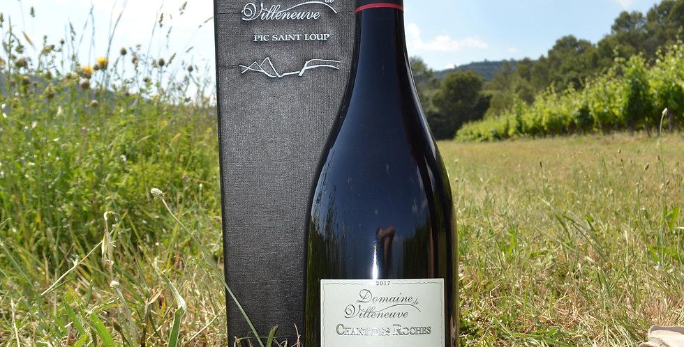 Magnum Chant Des Roches Rouge AOP Languedoc Pic Saint Loup (coffret carton)