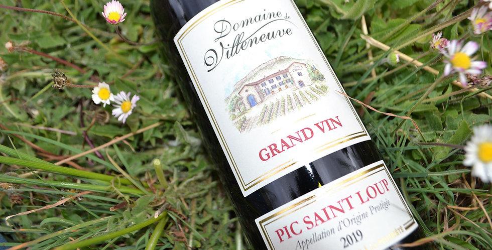 Grand Vin rouge AOP Pic Saint Loup