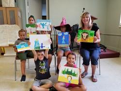 Art Display at Spanish4you Camps!