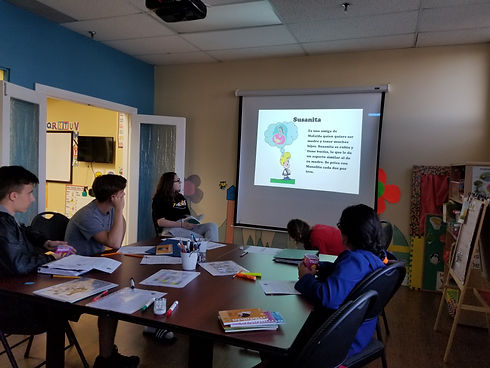 Teens Spanish Class at Spanish4you!