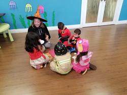 Halloween special Pre-schooler class