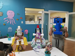 Kids robot project at Spanish4you!
