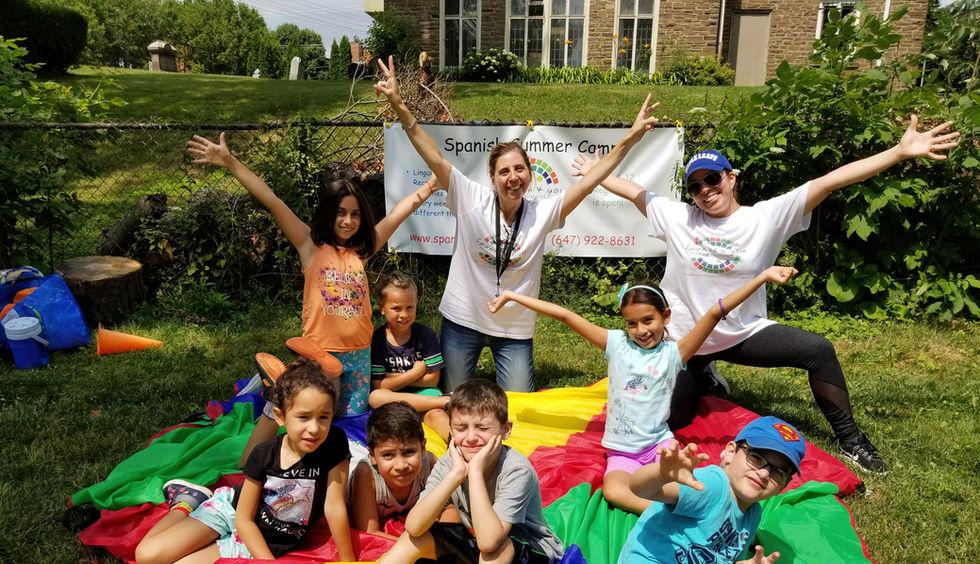 Kids Spanish Summer camp