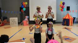 Kids Music band presentation at Summer camp Spanish4you
