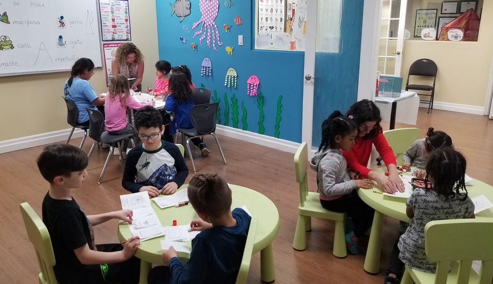 Kid group activity